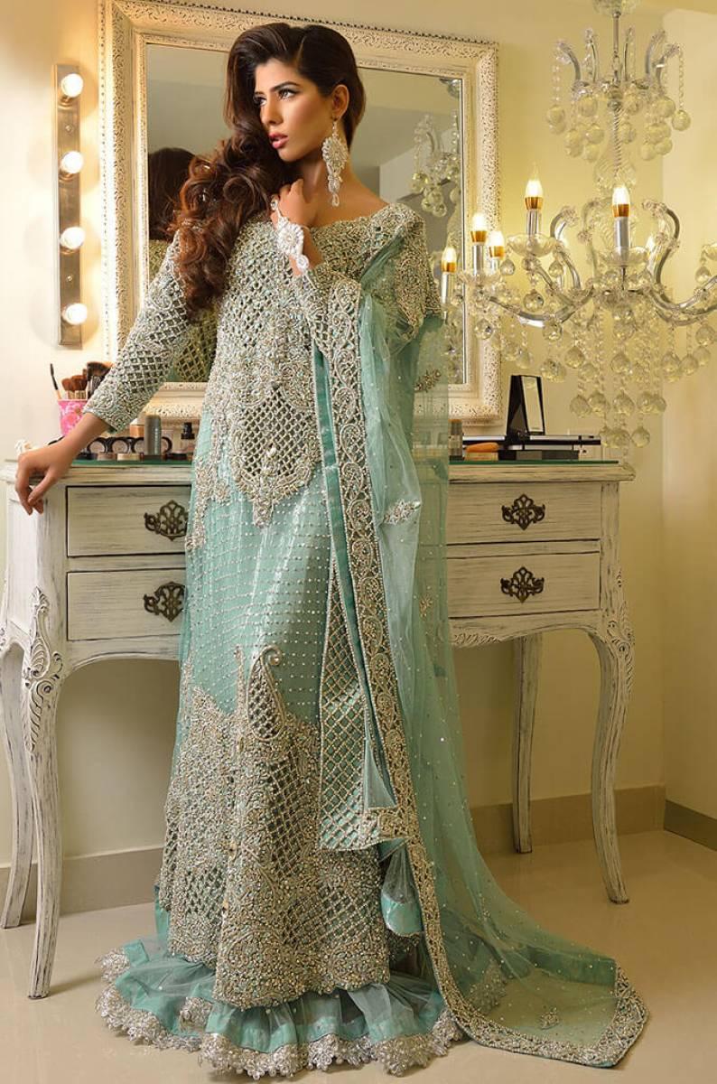 Pakistani Bridal Maxi Gown