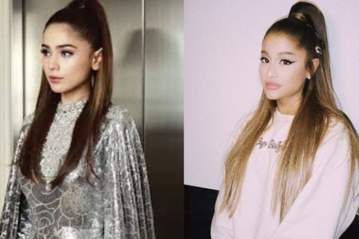 Aima Baig Trolled For Copying Ariana Grande At PSL 2020