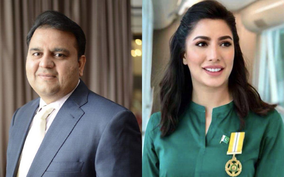 Fawad Chaudhry is behind Mehwish For Tamgha-e-Imtiaz