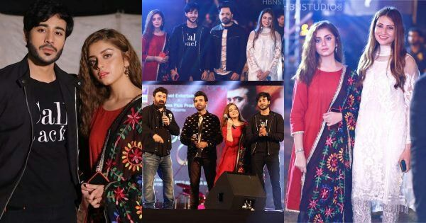 Cast of Drama Serial Mera Dil Mera Dushman Spotted at ARY Festival