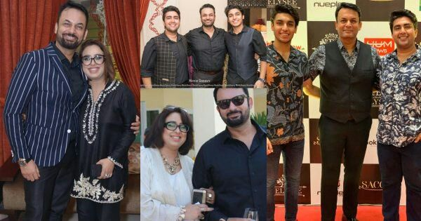 Actor Nauman Masood Pictures With His Wife And Sons