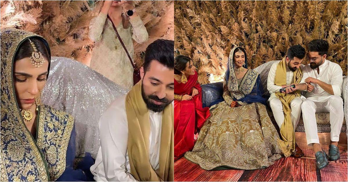 Sadia Ghaffar And Hassan Hayat Khan Got Nikkahfied