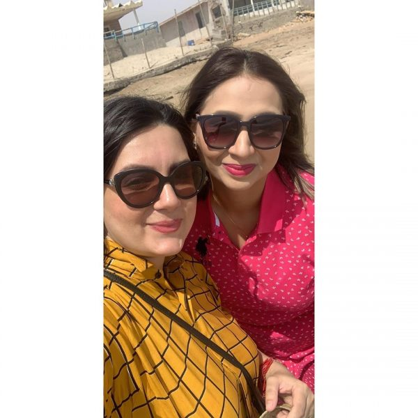 Pictures of Faisal Qureshi Enjoying With Family At Beach