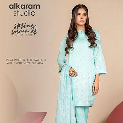 Alkaram Summer wear 3 piece