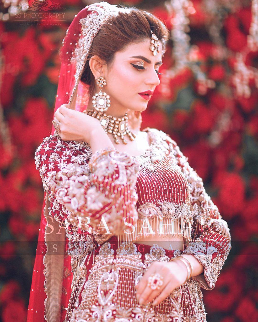 Zubab Rana Beautiful Latest Bridal Photoshoot