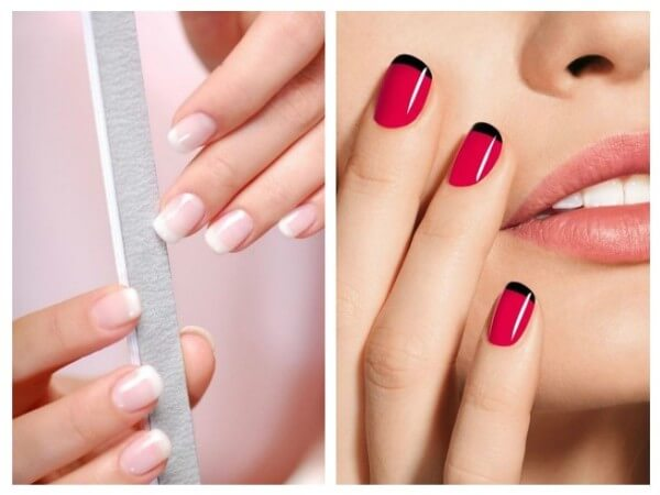 French Manicure Trendy Nail Art Designs for Summer Vacations