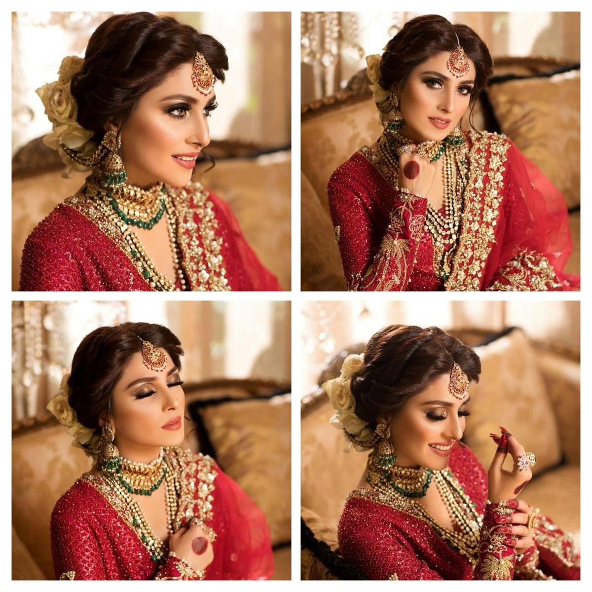 Social Media Loved New Bridal Photoshoot of Actress Ayeza Khan