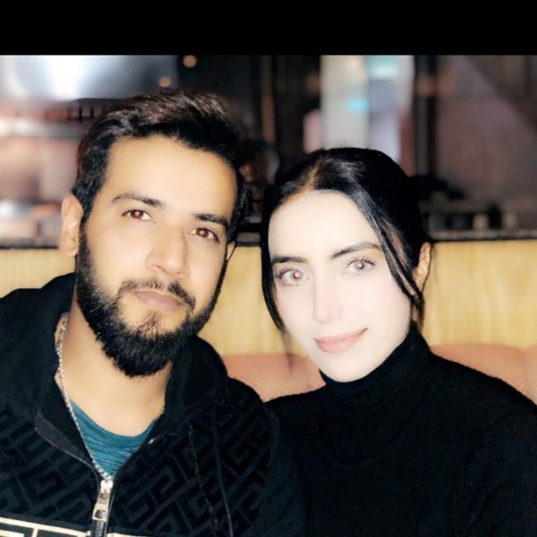 New Pictures of Imad Wasim with his Wife