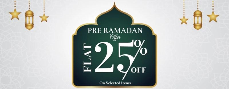 Warda 25% Off | Pre-Ramadan 2020 Offer