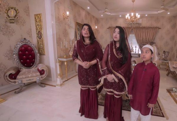 Ramzan Mubarak Show Live from Home | Javeria Saud With Her Kids