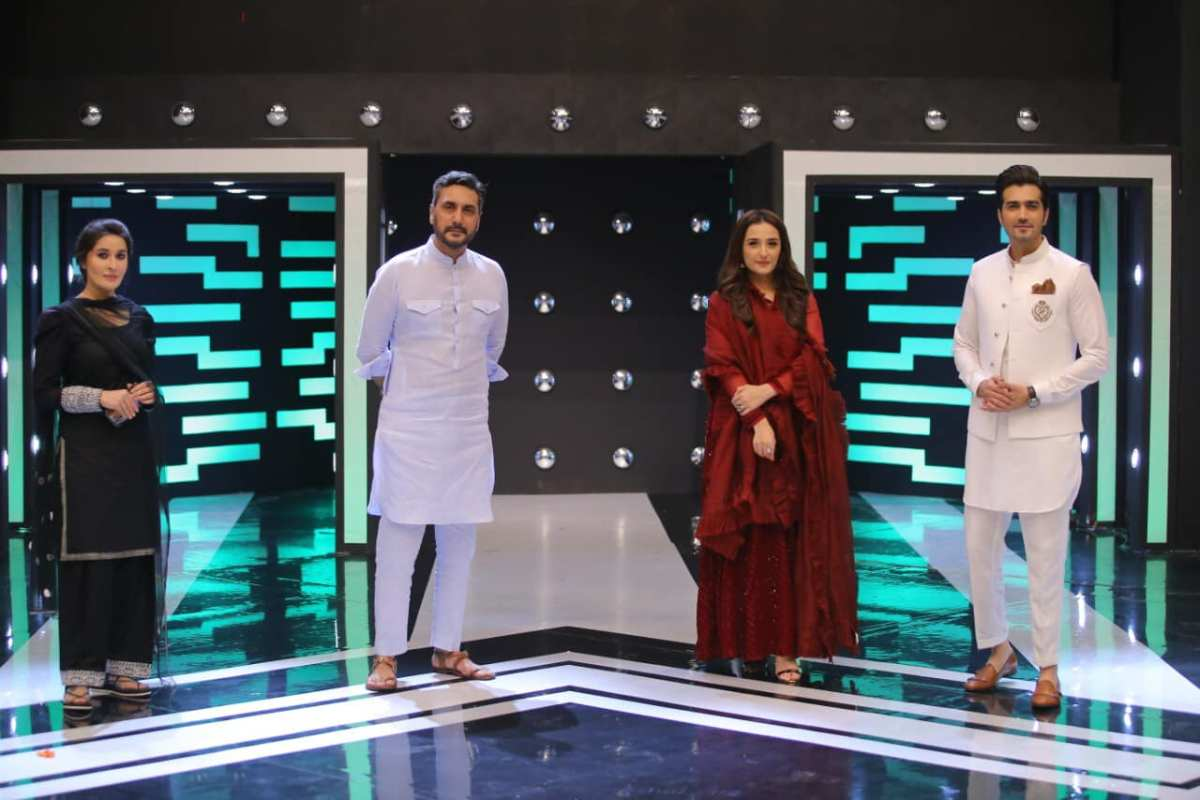 Jeeto Pakistan League  Shehzad Sheikh and Moomal Sheikh Awesome Pictures