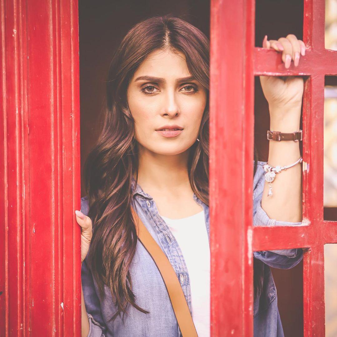Ayeza Khan and Danish Taimoori BTS Clicks from Ad Shoot