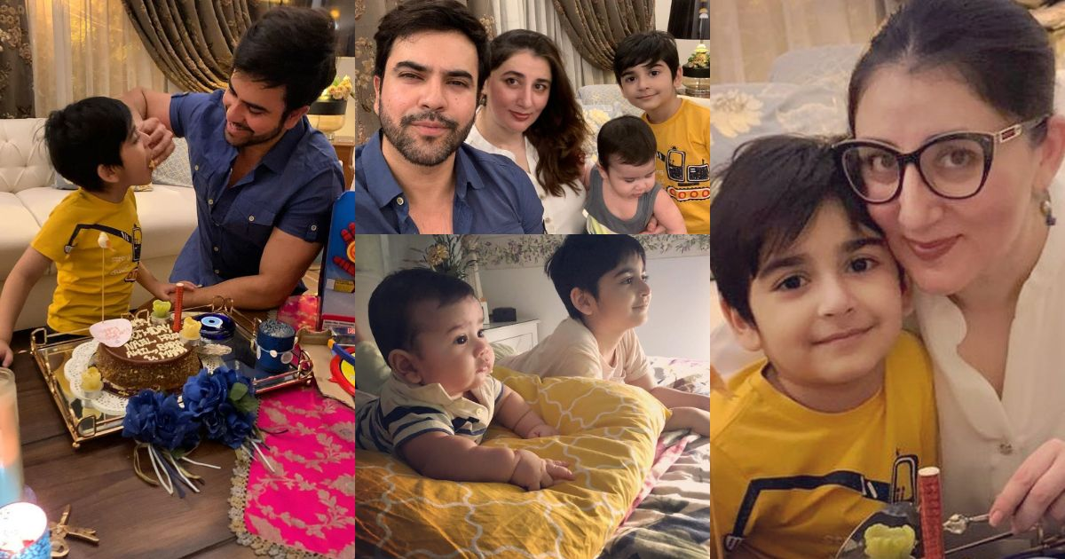 Beautiful Pictures from Junaid Khan Son 6th Birthday