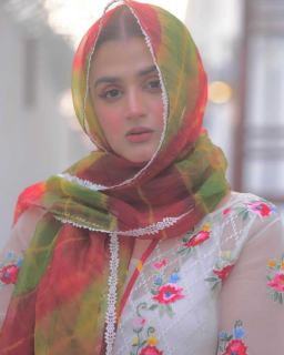Hira Mani simple yet gorgeous Pictures from an Iftar Party