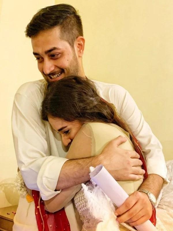 Khaani famed actress Shehzeen Rahat got married