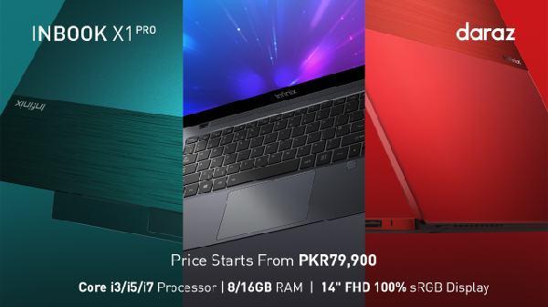 Infinix latest laptop INBook X1 Series, now available across Pakistan
