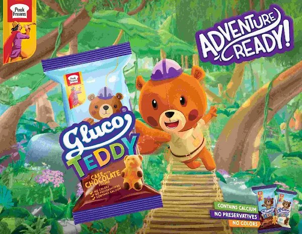 Peek FreansGluco Launches 'Gluco Teddy' Bear-shaped Cakes for Kids!