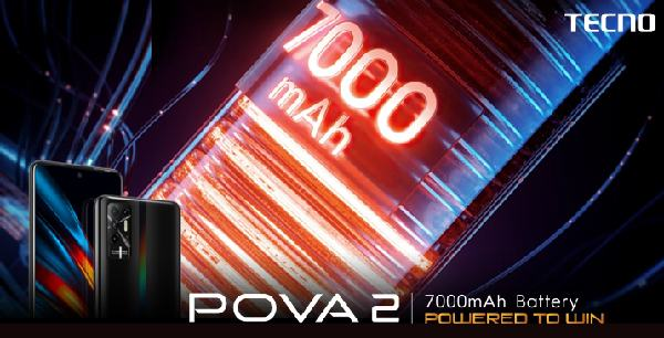 POVA 2 becomes a hot seller with 7000mAh Biggest Battery