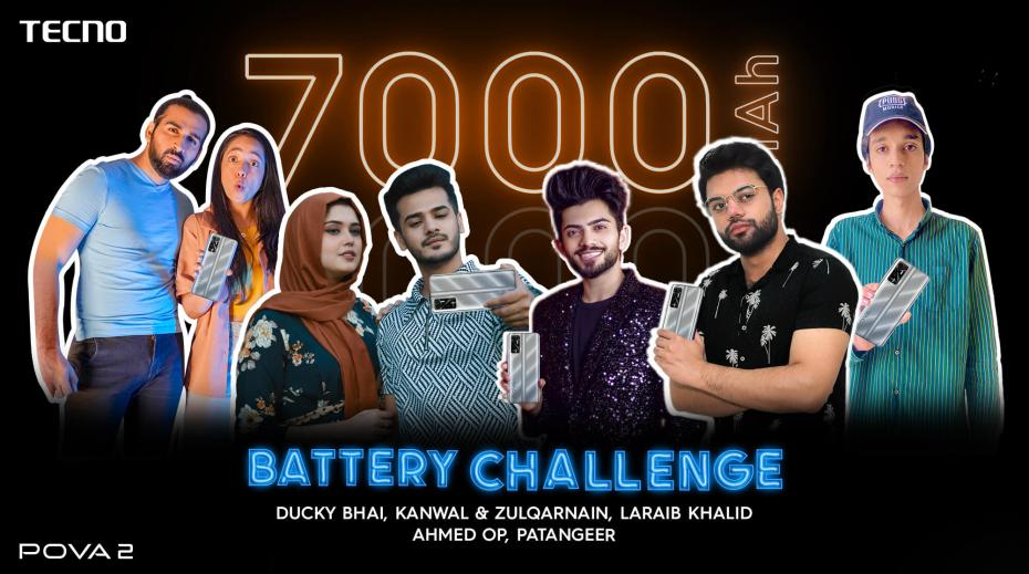 TECNO POVA 2 Battery Endurance Challenge ends with Overwhelming Success