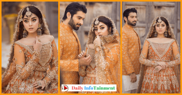 Alizeh Shah and Muneeb Butt Beautiful Wedding Shoot