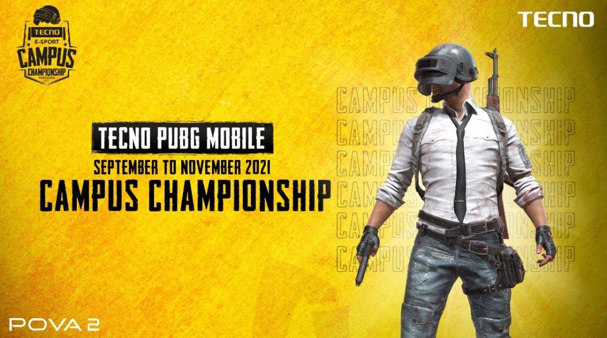 TECNO POVA 2 x PUBG Campus Championship to start soon