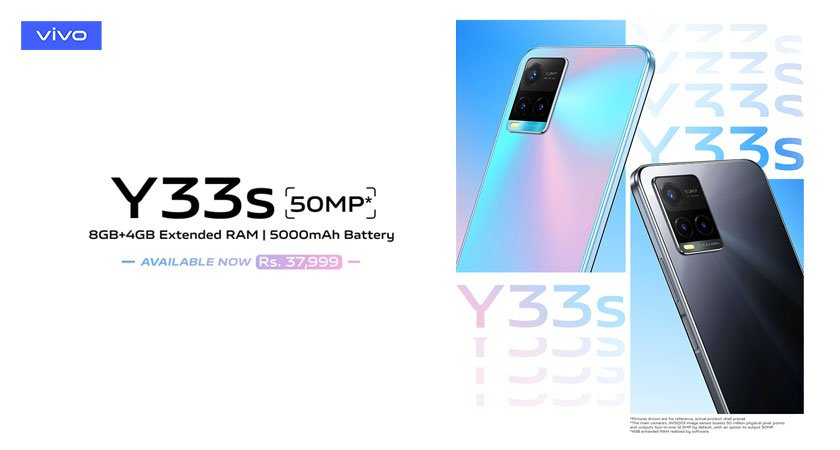 Vivo Y33s Price in Pakistan - Features and Availability