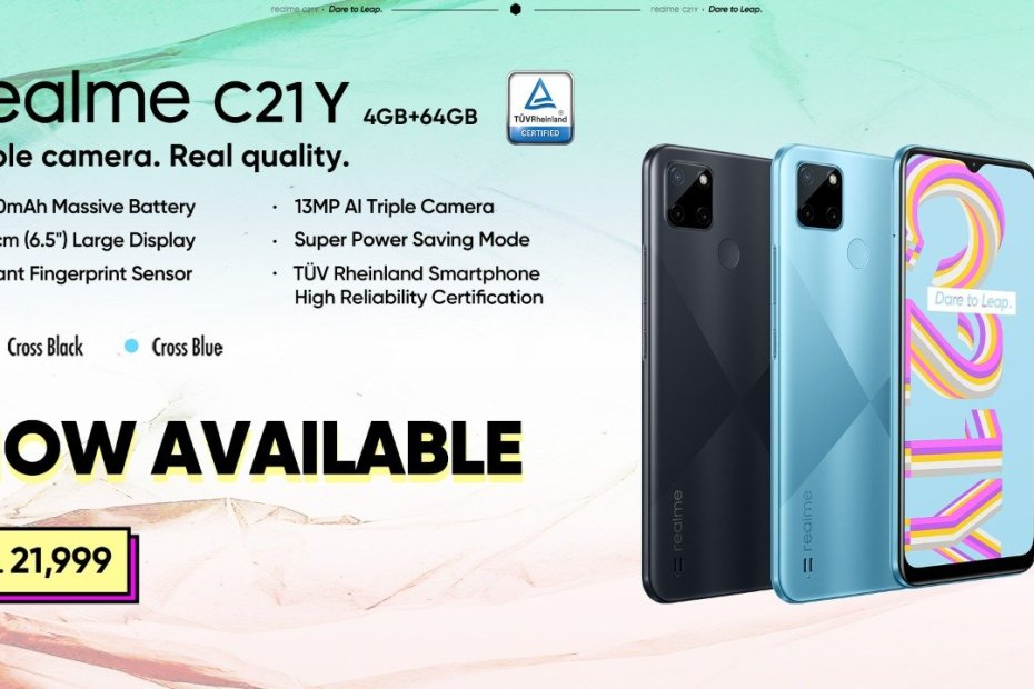 realme C21Y Promises Faster Performance, Lag-free Gaming with the Unisoc T610 Processor
