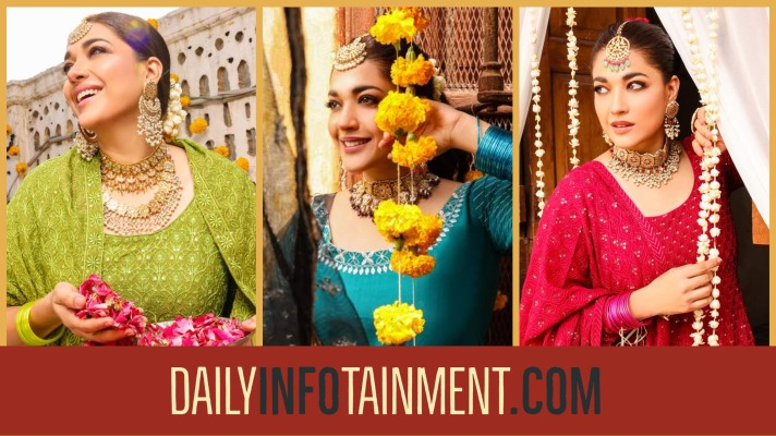 Sanam Jung Vibrant shoot for Anum Jung holiday collection 21