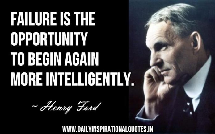 Failure is the opportunity to begin again more… ( Motivational Quotes )
