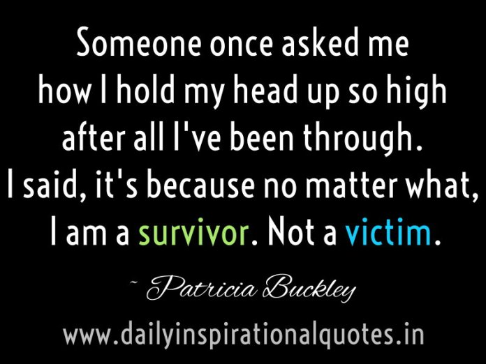 Someone once asked me how I hold my head up so high after… ( Inspirational Quotes )
