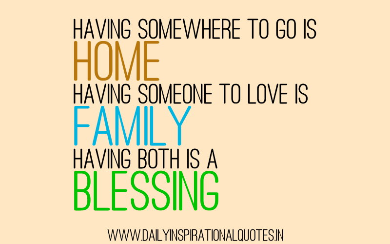 Inspirational Quotes About Family: Daily Inspirational & Motivational Best