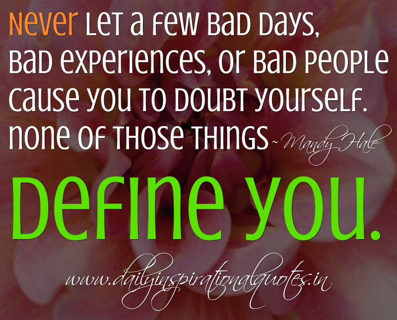 Quotes About People Doubting You. QuotesGram