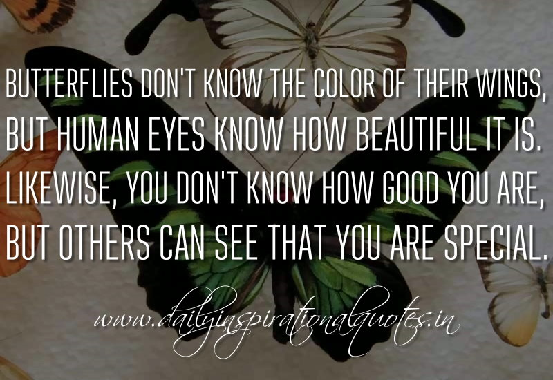 Love Knows No Color Quotes: Butterflies Don't Know The Color Of Their Wings, But Human