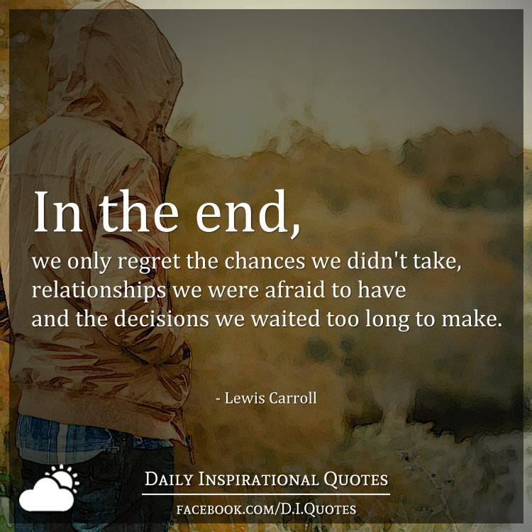 Take Chances Quotes