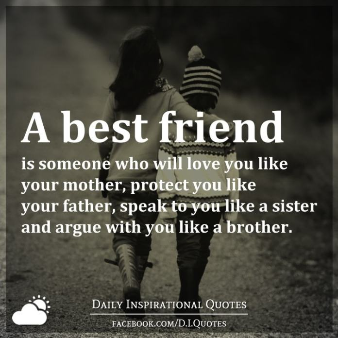 brother and sister best friend quotes