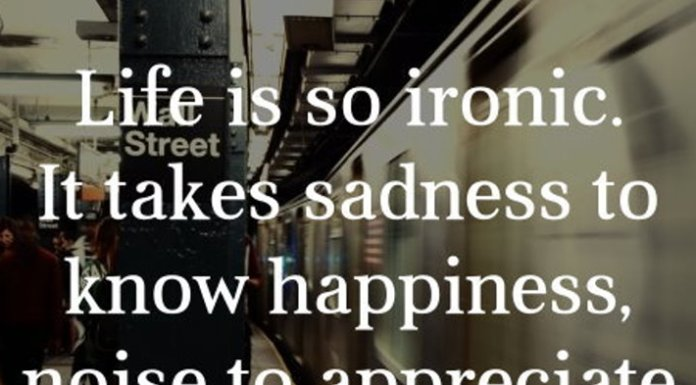 Life Is Ironic Quote: Daily Inspirational And Wisdom Quotes
