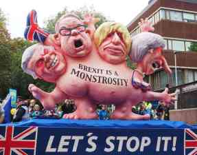 Brexit-is-a-monstrosity-float-2017-10-01-in-manchester-photo-robert-mandel