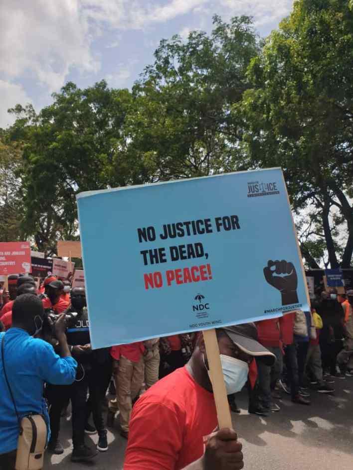 PHOTOS: NDC seizes Accra with massive demo against Akufo-Addo 10