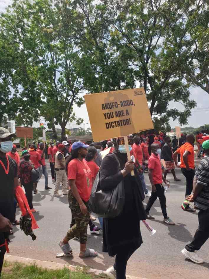 PHOTOS: NDC seizes Accra with massive demo against Akufo-Addo 11