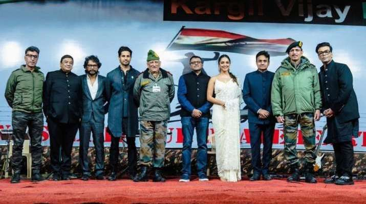 Shershaah Trailer launch: Kiara Advani expresses her gratitude to the Army and their families in Kar