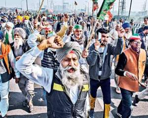 Farmers' national convention to mark nine months of protest begins at Singhu border