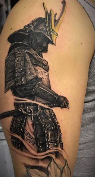 Tatuaggio Braccio Guerriero Uomo | Tatuaggiovol