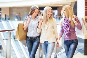 Women at Mall