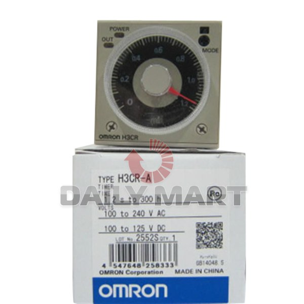 Omron H3cr- 100-240vac Solid State Multi Functional
