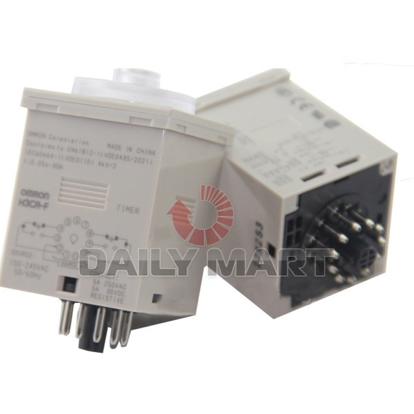 Omron H3cr- Solid State Time Timer Relay 100 240vac 1