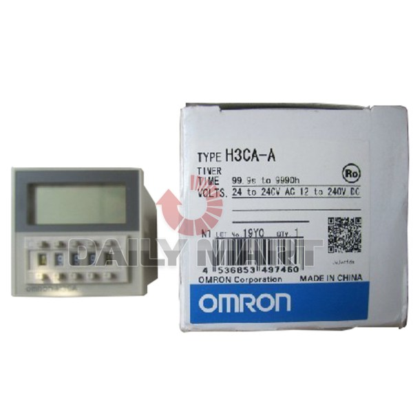 Omron H3ca- Solid-state Timer 24-240vac Vdc