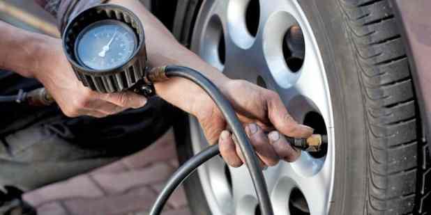 Check Tires Pressure