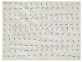 Bruno Munari Solfeggio con variazioni, 1955 Progetto grafico per tessuto stampato – Manifattura Jsa tempera su carta Busto Arsizio (Varese), Collezione Branchini-Grampa