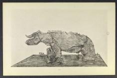 Max Ernst, Histoire naturelle, Paris 1926, tav. XXVIII. Firenze, Biblioteca Nazionale Centrale. Foto Arrigo Coppitz