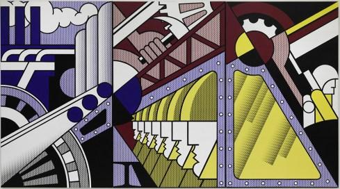 Preparativi. Roy Lichtenstein (New York 1923-1997), 1968, olio e acrilico Magna su tre tele, cm 304,8 x 548,6, New York, Solomon R. Guggenheim Museum, 69.1885 Foto di Kristopher McKay © Estate of Roy Lichtenstein New York, by SIAE 2016